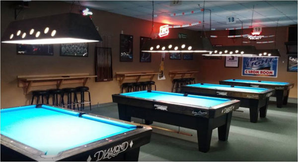 Historical Venues Wisconsin Billiards Hall Of Fame - How much room do you need for a pool table