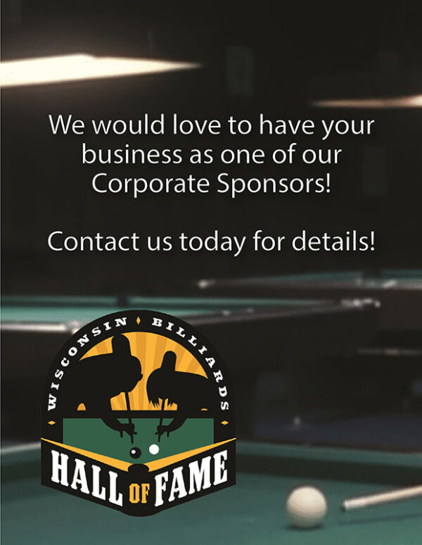 Would you like to be a sponsor of the WIBHOF?